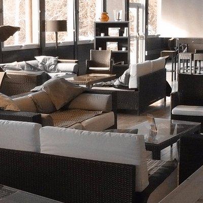 Espace lounge à l'UrbanSoccer de Dijon