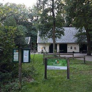 Bezoekerscentrum Het Koetshuis op landgoed Hof Espelo