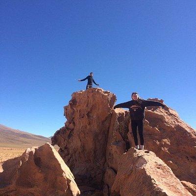 On our way to Villa Alota / Bolivia