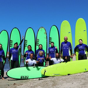 Fantastic surf lessons for all ages and levels!