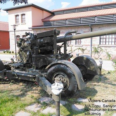Vickers uçaksavar (Flak) topu