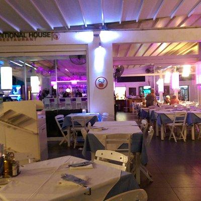 the restaurant