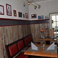 Das Restaurant vor der Renovierung.