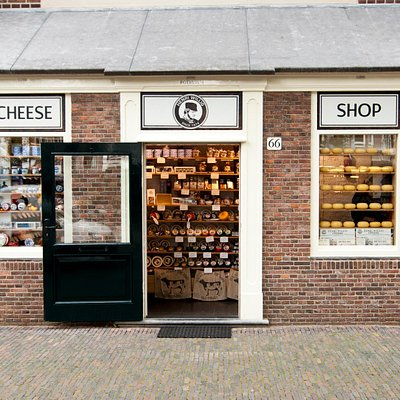 The smallest cheese shop in Amsterdam