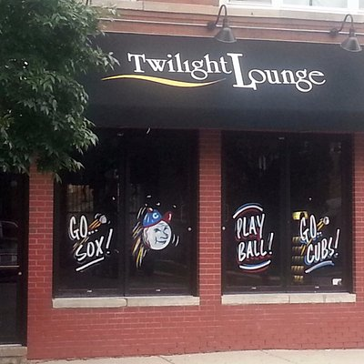 Front & entrance to Twilight Lounge