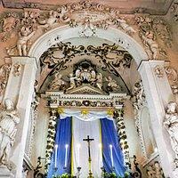 Interno dell'Oratorio del Carminello.