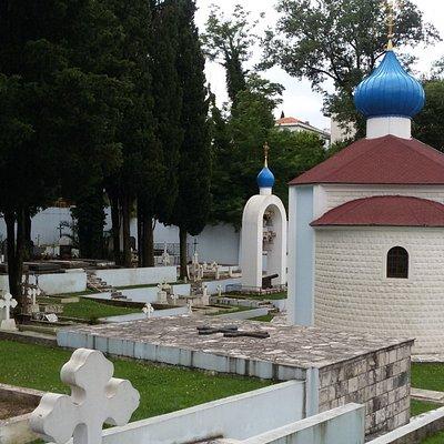Белое русское кладбище