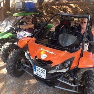 500cc automatic 2 seater buggies.