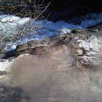 Nahal Hashofet stream in spring