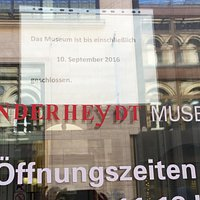 Museum closed, but English website does not mention this.