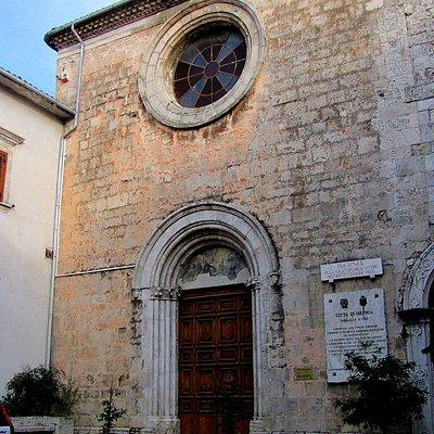 Frontale chiesa di San Francesco
