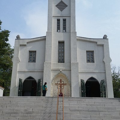 One of the oldest Catholic Churches in Korea and location of relics of St Andrew Kim Taegon