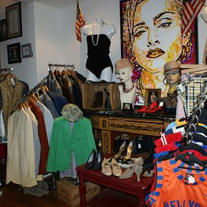 Hamlet's vintage cloting store for men and women in Greenwich Village New York