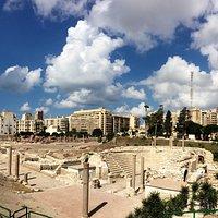 Roman Amphitheater.