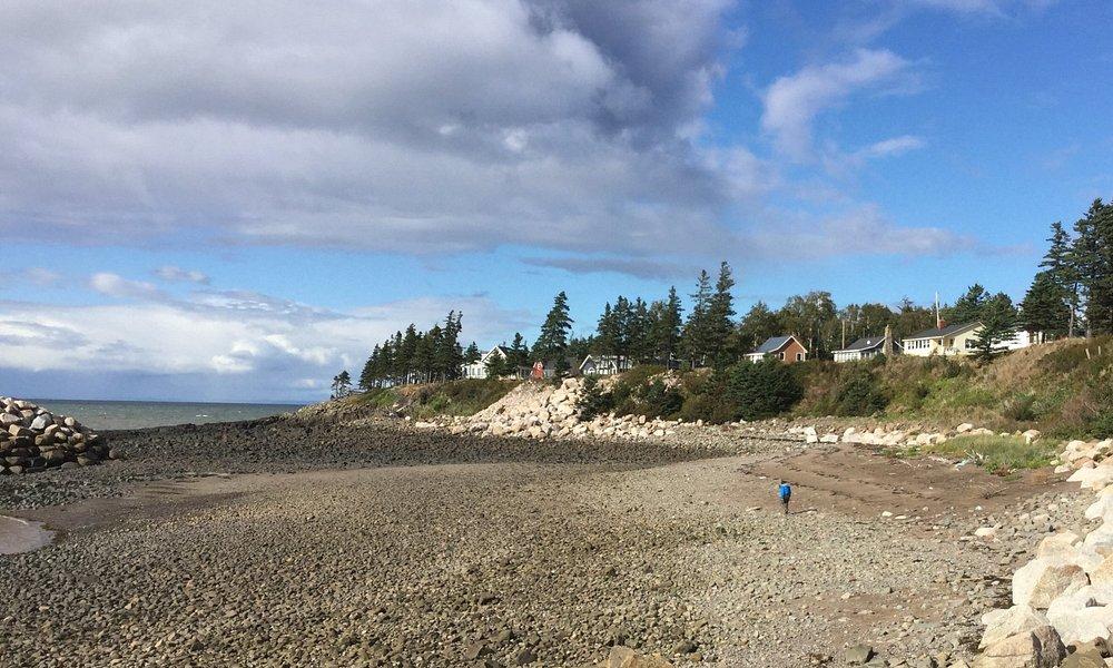 Bay of Fundy beach at Hampton