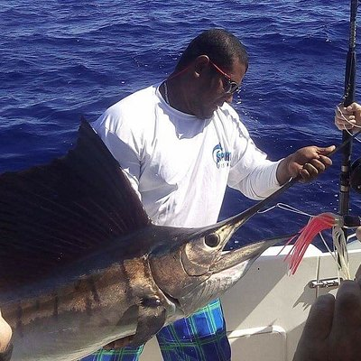 Great fight with this sailfish