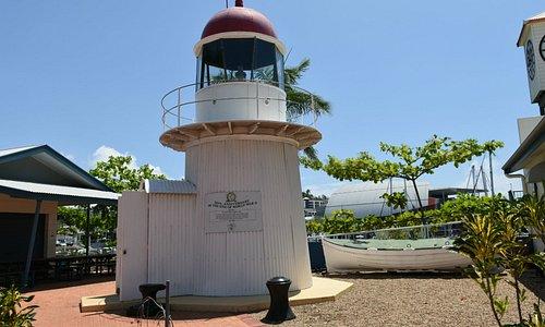 Bay Rock Lighthouse, Townsville Maritime Museum.