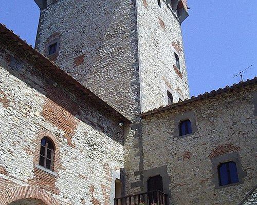 Interno: particolare della torre