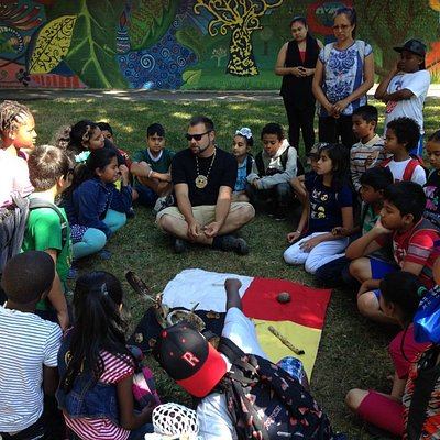 Aboriginal cultural teachings of environmental respect are shared on every tour.