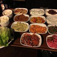 selection of meze : Turksh appetizers