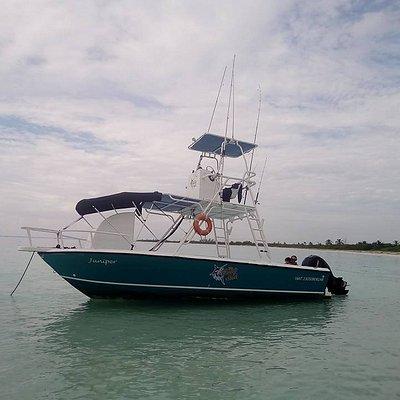 our boat juniper