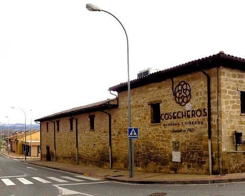 Panorámica de la situación. Edificio Bodegas Cosecheros. Fundado en 1913