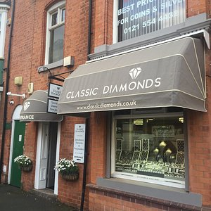 Outside our shop on Vyse street, Birmingham