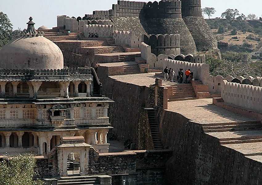 Kumbhalgarh Fort Rajasthan INDIA