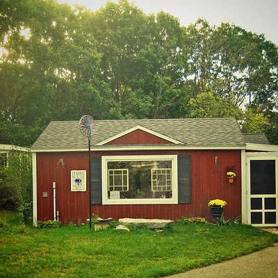 Homeport Pottery & Artisans Gallery - perfectly off the beaten path!