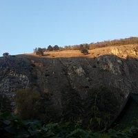 Marash yürüyüşünde güzel bir tepe görüntüsü