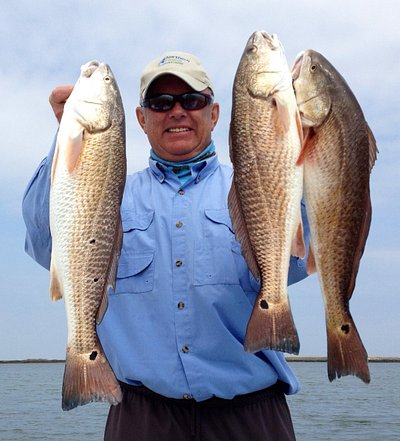 One man limit of Reds