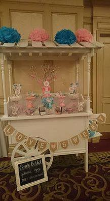 Candy Buffets / sweet tables in your colours on our great candy cart
