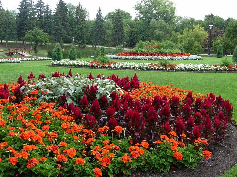 Kildonan Park Flower garden