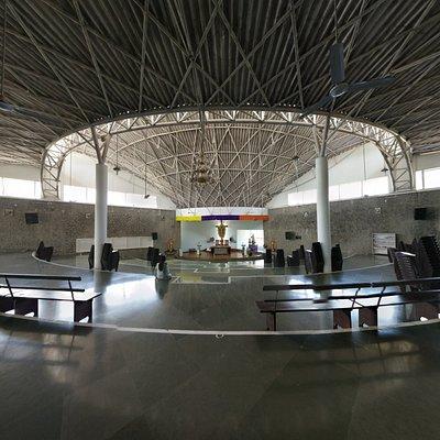 Prayer Hall of the Mudipu St. Joseph Vaz Shrine