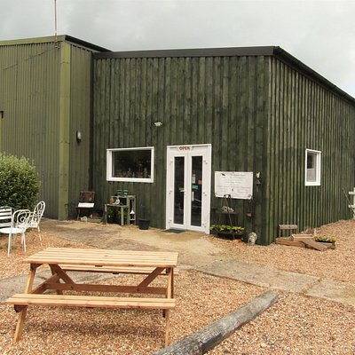 Our farm shop and seating