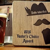 2016 Taster's Choice Award