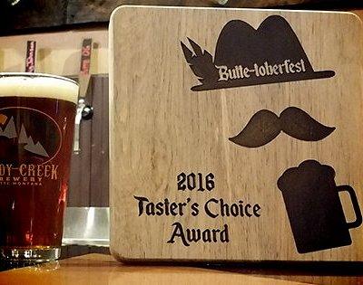 2016 Taster's Choice Award
