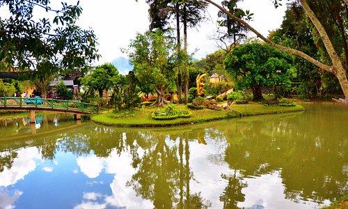 Заповедник, национальный парк и водопад Пренн в Далате Prenn Falls Dalat