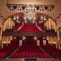 Our 1924 Auditorium, beautifully renovated in 2012, seen from center stage!