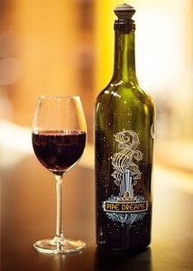 This is organ Pipe Dreams Wine, aged in French Oak Barrels a very delicious Wine!