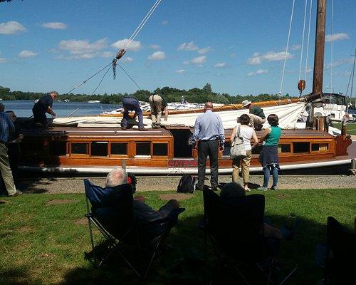Wherry boat Hathor