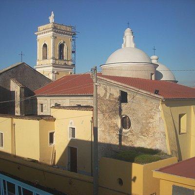 chiesa S. Maria delle Grazie vista dalla parte sud