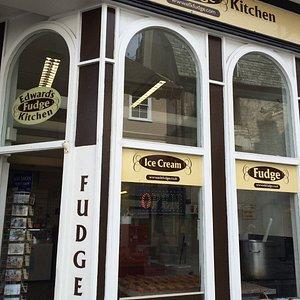 Ed's fudge Plymouth branch.