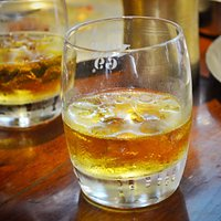 Whiskey on the rocks!!