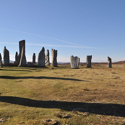 Fantastic weather and history at the Callanish Stones captured on by driver-guide Rob!