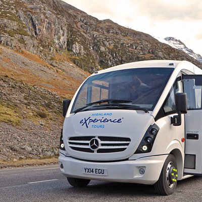 One of our Mercedes minibuses out on tour!