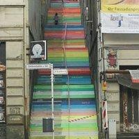Rainbow stairs Die Holsteiner Treppe