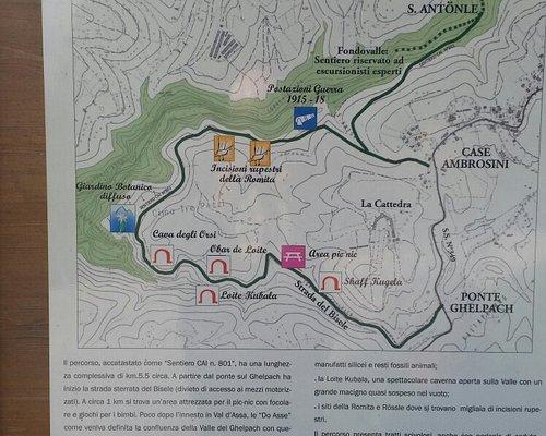 Un percorso per ritrovare alcuni siti preistorici dell'altopiano