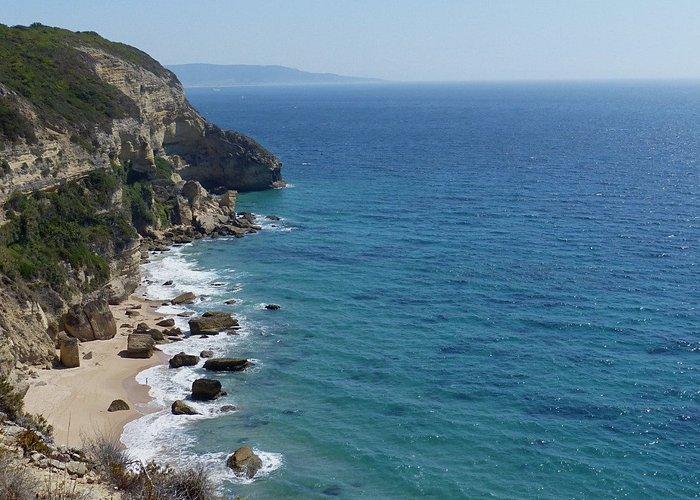 Tarifa, au loin et le Maroc derrière...