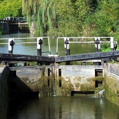 The Grand Union lock